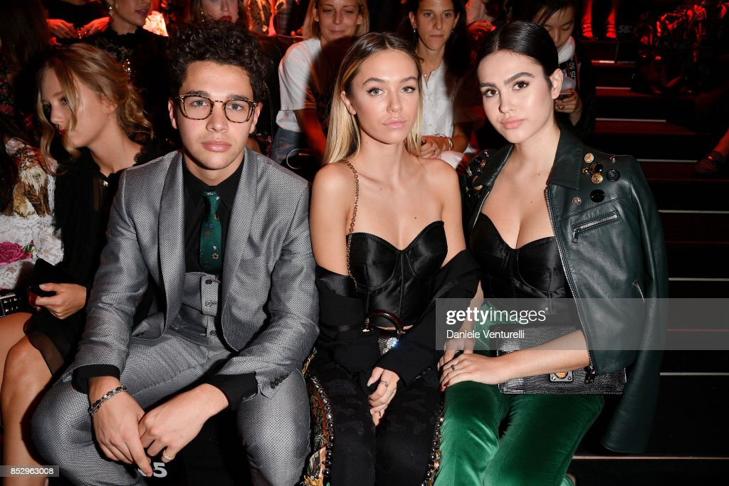 Dolce & Gabbana - Front Row - Milan Fashion Week SS 2018 : News Photo