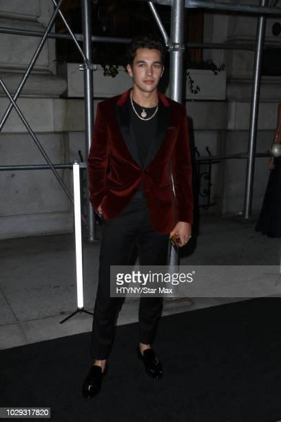 Austin Mahone is seen on September 7 2018 in New York City