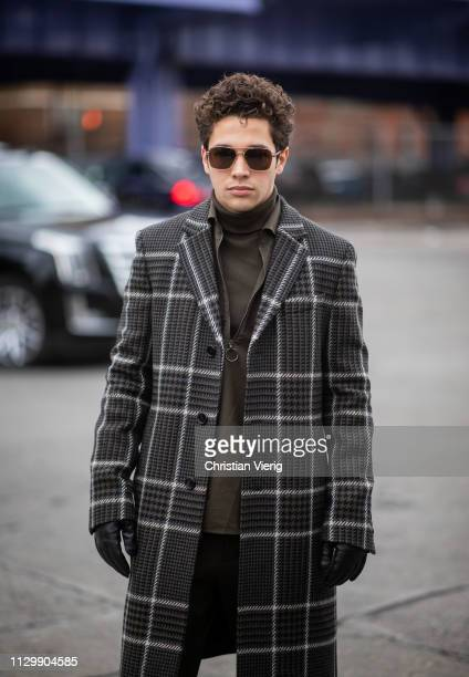 Austin Mahone is seen outside Boss during New York Fashion Week Autumn Winter 2019 on February 13 2019 in New York City