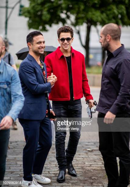 Austin Mahone is seen outside Brandon Maxwell during New York Fashion Week Spring/Summer 2019 on September 8 2018 in New York City