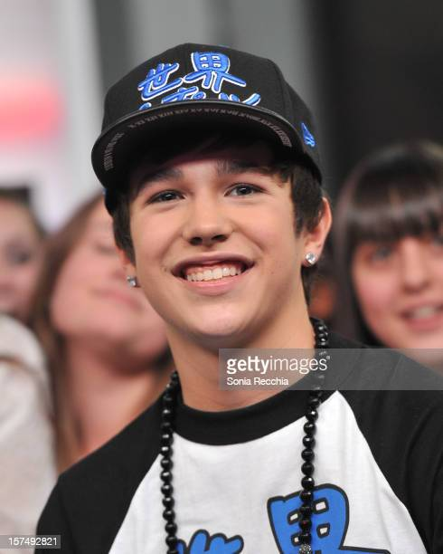 Austin Mahone On NewMusicLive at MuchMusic Headquarters on December 3 2012 in Toronto Canada