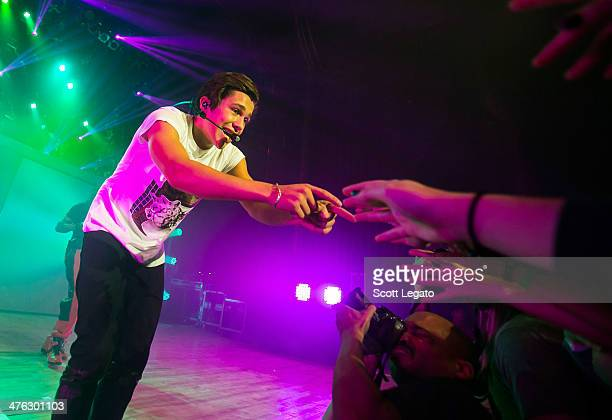 Austin Mahone performs in concert at The Royal Oak Music Theater on March 2 2014 in Royal Oak Michigan