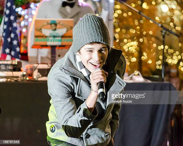 Austin Mahone performs live at Tanger Outlet in Deer Park, NY on November 17th 2012.