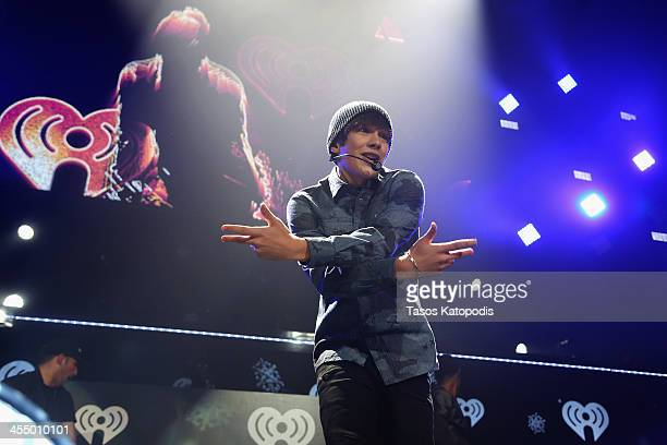 Austin Mahone performs onstage during 101.3 KDWB's Jingle Ball 2013, at Xcel Energy Center on December 10, 2013 in St. Paul, Minnesota.