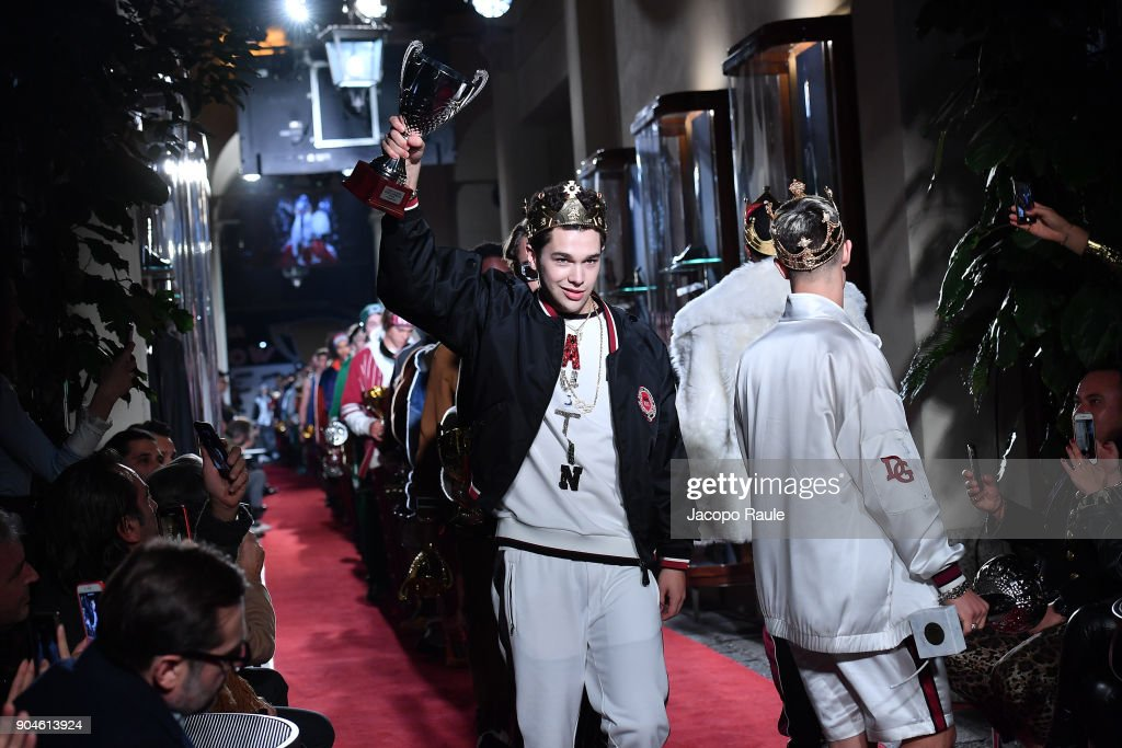 Dolce & Gabbana Unexpected Show - Runway - Milan Men's Fashion Week Fall/Winter 2018/19 : News Photo