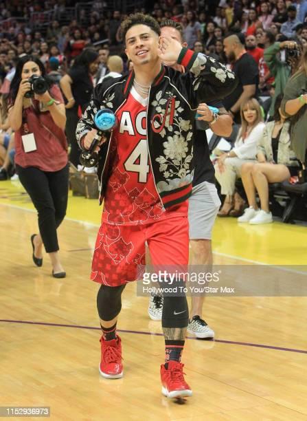 Austin McBroom is seen on June 29 2019 in Los Angeles