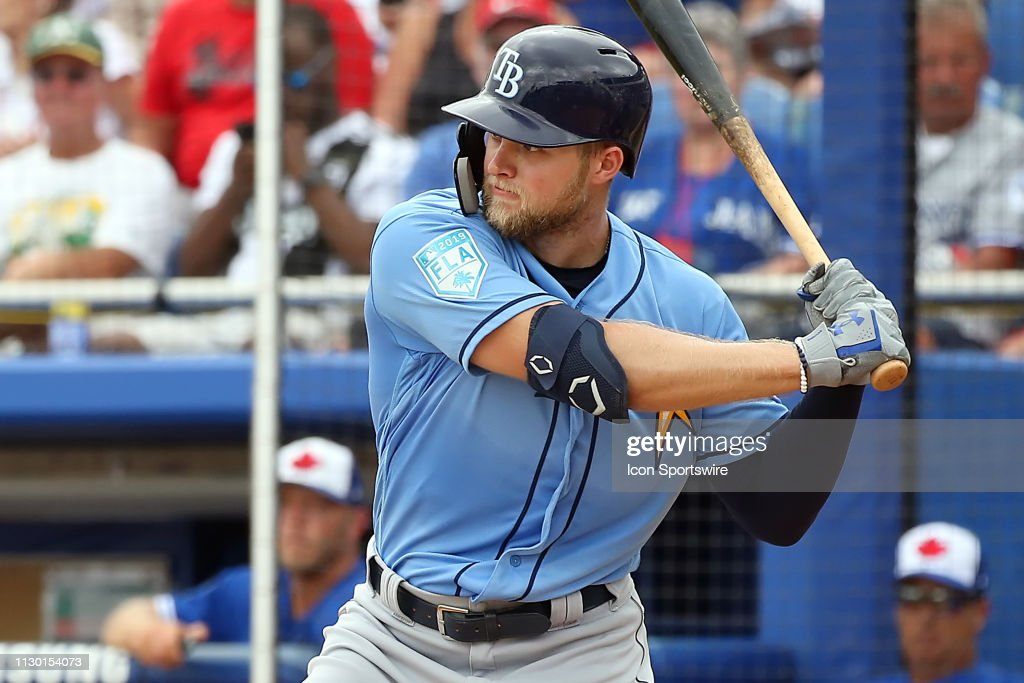MLB: MAR 12 Spring Training - Rays at Blue Jays : News Photo