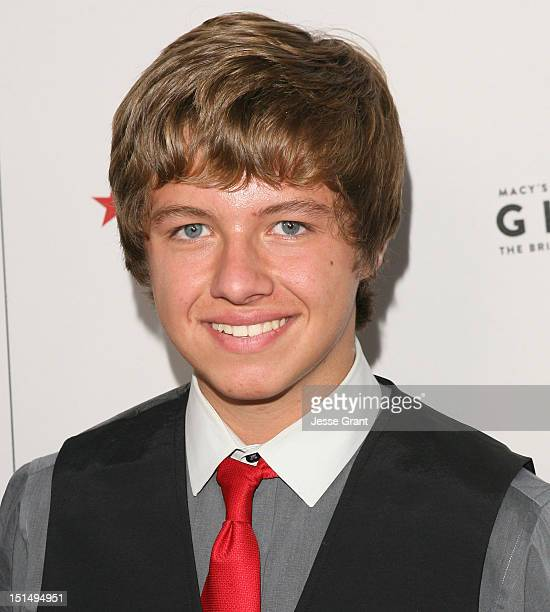 Austin Michael Coleman arrives at Macy's Passport Presents Glamorama 30th Anniversary in Los Angeles at the Orpheum Theatre on September 7 2012 in...