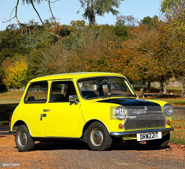 Austin Mini belonging to tv's Mr Bean 2000