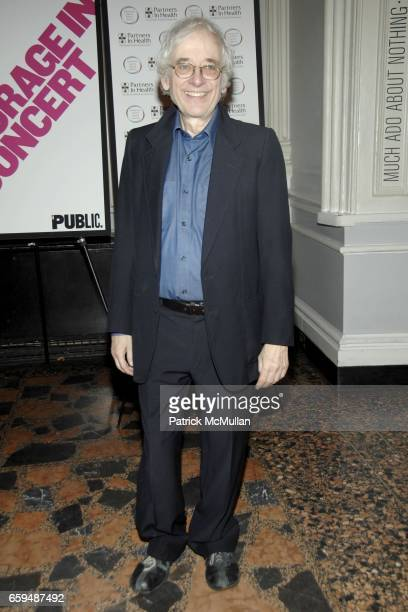 Austin Pendleton attends COURAGE IN CONCERT PostShow Arrivals at The Public Theater on October 19 2009 in New York City