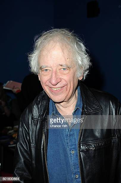 Austin Pendleton attends 'Phalaris's Bull Solving The Riddle Of The Great Big World' opening night at Beckett Theatre on December 17 2015 in New York...