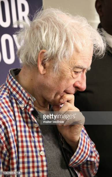 Austin Pendleton during the MTC Broadway Cast Call for 'Choir Boy' at The MTC Rehearsal Studios on November 20 2018 in New York City