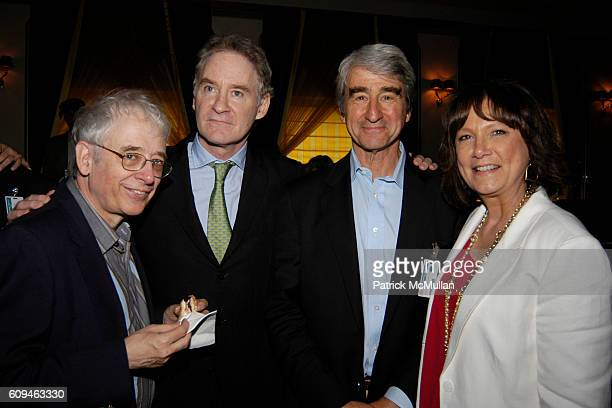 Austin Pendleton Kevin Kline Sam Waterston and Catherine Montgomery attend American Institute for Stuttering Gala Luncheon Cunard Line Hosting First...