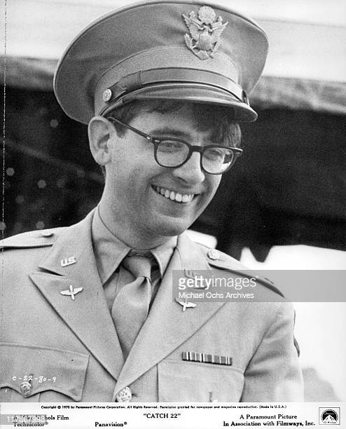 Austin Pendleton smiles in a scene from the film 'Catch 22' 1970