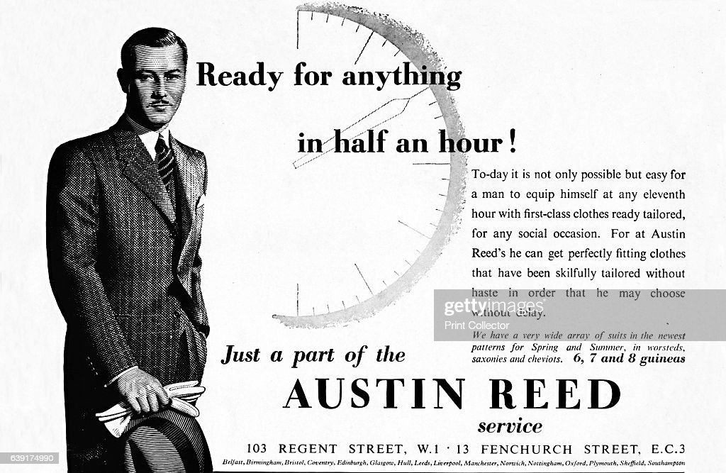 Austin Reed Ready For Anything In Half An Hour 1937 From The News Photo Getty Images