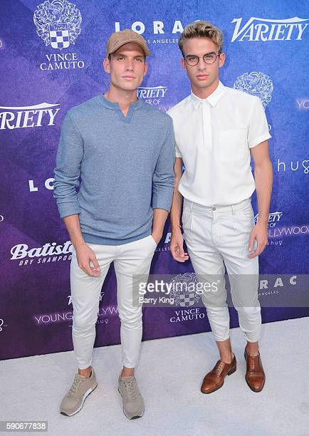 Austin Rhodes and Aaron Rhodes attend Variety's Power of Young Hollywood event, presented by Pixhug, with Platinum Sponsor Vince Camuto at NeueHouse...