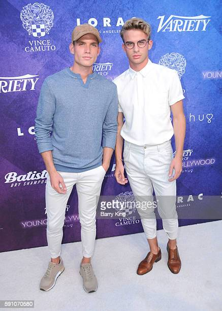 Austin Rhodes and Aaron Rhodes the Rhodes Twins attend Variety's Power of Young Hollywood event presented by Pixhug with platinum sponsor Vince...