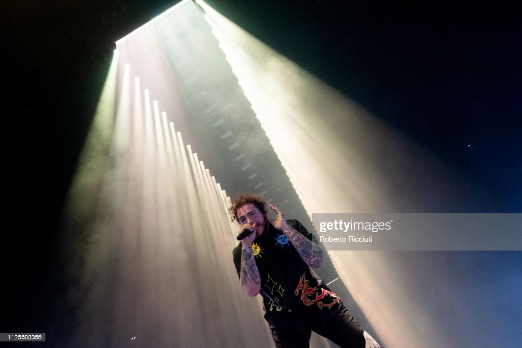 Post Malone Performs At The SSE Hydro Glasgow : News Photo