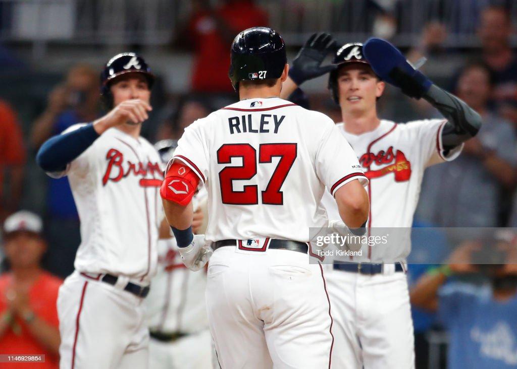Washington Nationals v Atlanta Braves : News Photo