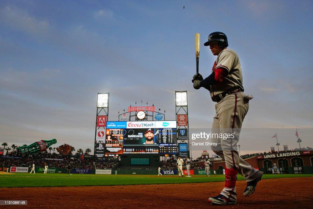 Atlanta Braves v San Francisco Giants : News Photo