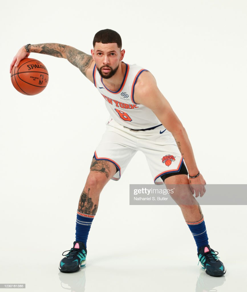 Austin Rivers Of The New York Knicks Poses For A Portrait During Nba News Photo Getty Images