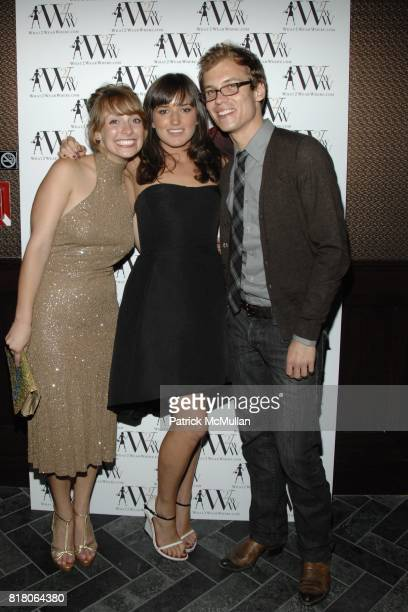 Austin Rosenfeld Kick Kennedy and Andrew Eickmann attend QUEST MAGAZINE What2WearWherecom hosts a soft launch of LAVO at 38 E 58th St on September 9...