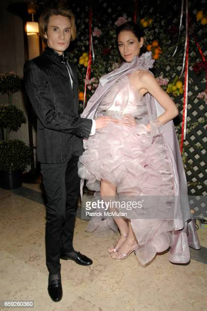 Austin Scarlett and Tara Stiles attend Frick Collection Young Fellows Ball at Frick Collection on February 26 2009 in New York City