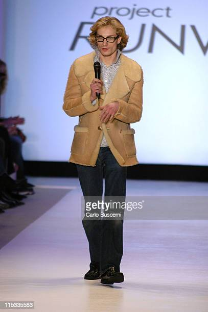 Austin Scarlett designer for Project Runway Fall 2005