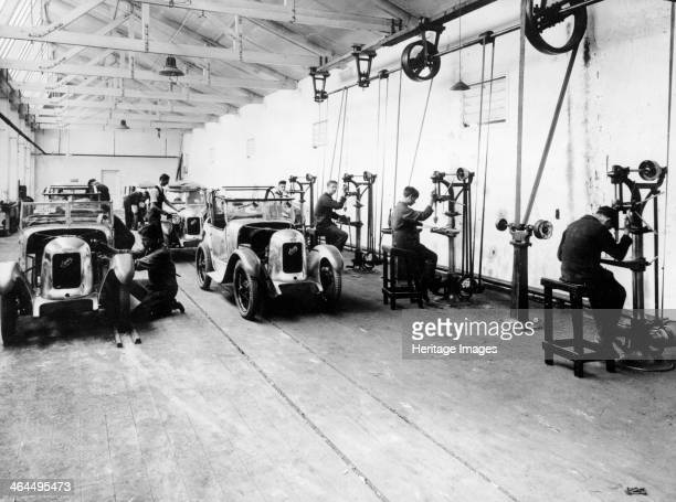 Austin Sevens being fitted with Swallow bodies 1929 A simple reliable affordable car the Austin Seven was in many respects the British equivalent of...