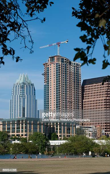 austin skyline - dave wilson webartz stock pictures, royalty-free photos & images
