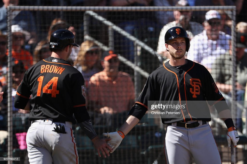 San Francisco Giants v Texas Rangers