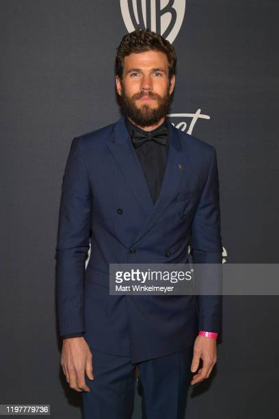 Austin Stowell attends The 2020 InStyle And Warner Bros 77th Annual Golden Globe Awards PostParty at The Beverly Hilton Hotel on January 05 2020 in...