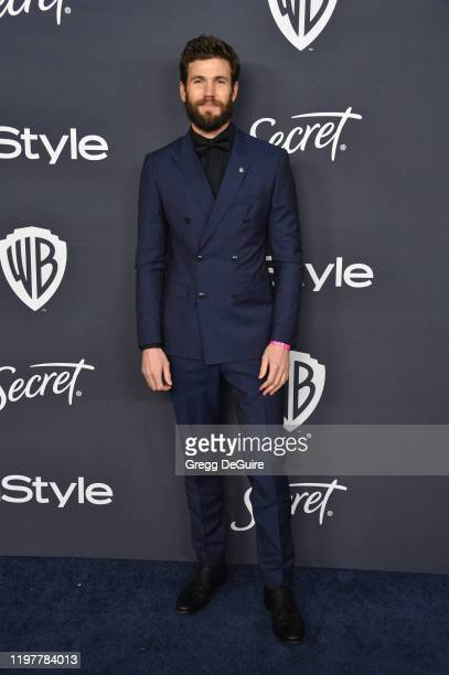 Austin Stowell attends the 21st Annual Warner Bros And InStyle Golden Globe After Party at The Beverly Hilton Hotel on January 05 2020 in Beverly...