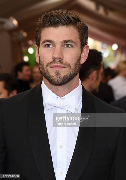 Austin Stowell attends the China Through The Looking Glass Costume Institute Benefit Gala at the Metropolitan Museum of Art on May 4 2015 in New York...