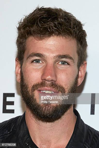 Austin Stowell attends the Contemporary Art and Experiential Performance Exhibition Entitled The Body Spectacle at Equinox Hollywood on October 4...