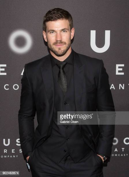 Austin Stowell attends the Focus Features Golden Globe Awards After Party on January 7 2018 in Beverly Hills California