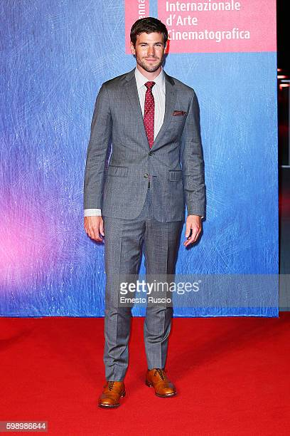 Austin Stowell attends the premiere of 'In Dubious Battle' during the 73rd Venice Film Festival at Sala Giardino on September 3 2016 in Venice Italy
