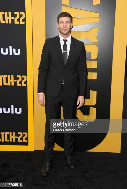 Austin Stowell attends the US Premiere Of Hulu's Catch22 at TCL Chinese Theatre on May 07 2019 in Hollywood California