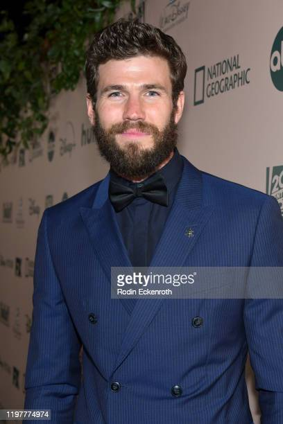 Austin Stowell attends The Walt Disney Company 2020 Golden Globe Awards PostShow Celebration at The Beverly Hilton Hotel on January 05 2020 in...