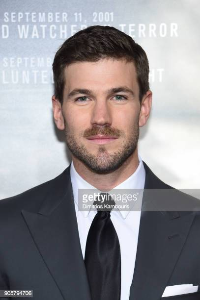 Austin Stowell attends the world premiere of 12 Strong at Jazz at Lincoln Center on January 16 2018 in New York City