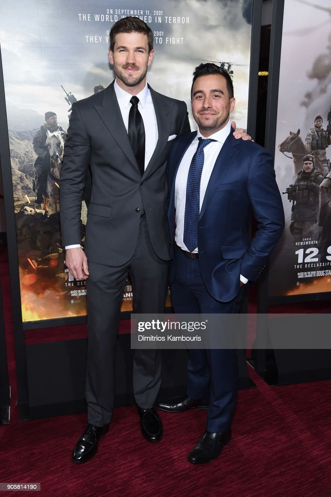 """""""12 Strong"""" World Premiere : News Photo"""