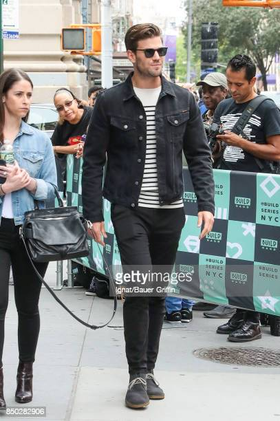 Austin Stowell is seen on September 20 2017 in New York City