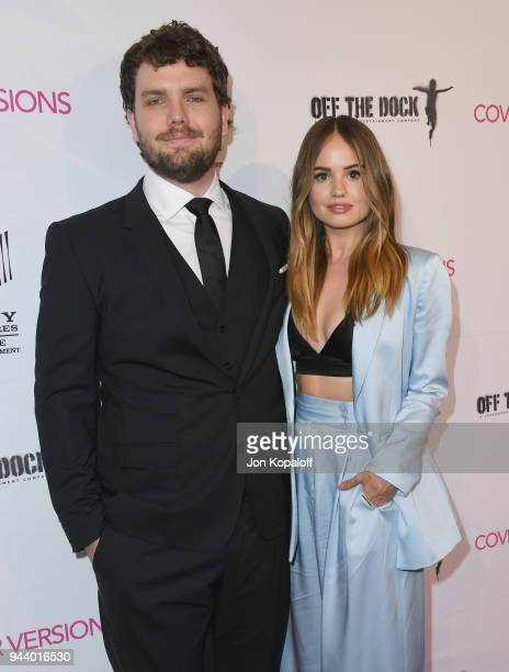 Austin Swift and Debby Ryan attend the Premiere Of Sony Pictures Home Entertainment And Off The Dock's Cover Versions at Landmark Regent on April 9...
