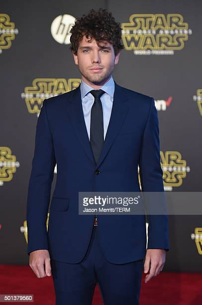 Austin Swift attends Premiere of Walt Disney Pictures and Lucasfilm's Star Wars The Force Awakens on December 14 2015 in Hollywood California