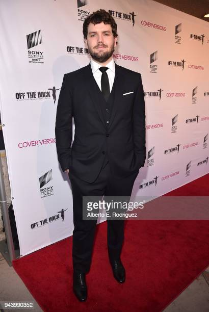 Austin Swift attends the premiere of Sony Pictures Home Entertainment and Off The Dock's Cover Versions at The Landmark Regent on April 9 2018 in Los...