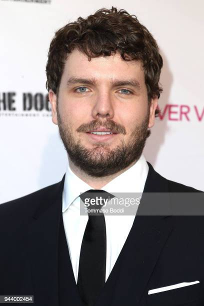 Austin Swift attends the Premiere Of Sony Pictures Home Entertainment And Off The Dock's Cover Versions held at Landmark Regent on April 9 2018 in...