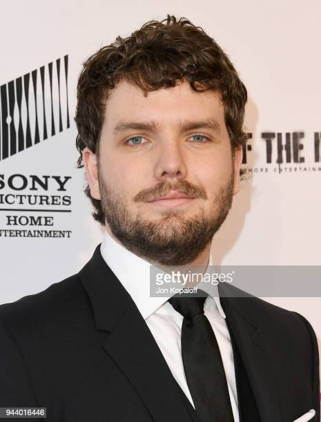 Austin Swift attends the Premiere Of Sony Pictures Home Entertainment And Off The Dock's Cover Versions at Landmark Regent on April 9 2018 in Los...