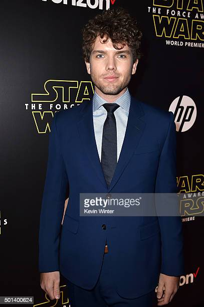 Austin Swift attends the World Premiere of Star Wars The Force Awakens at the Dolby El Capitan and TCL Theatres on December 14 2015 in Hollywood...