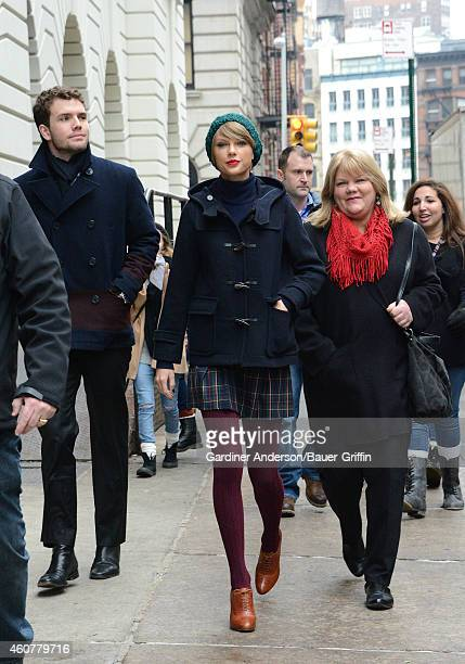 Austin Swift Taylor Swift and Andrea Finlay are seen on December 22 2014 in New York City