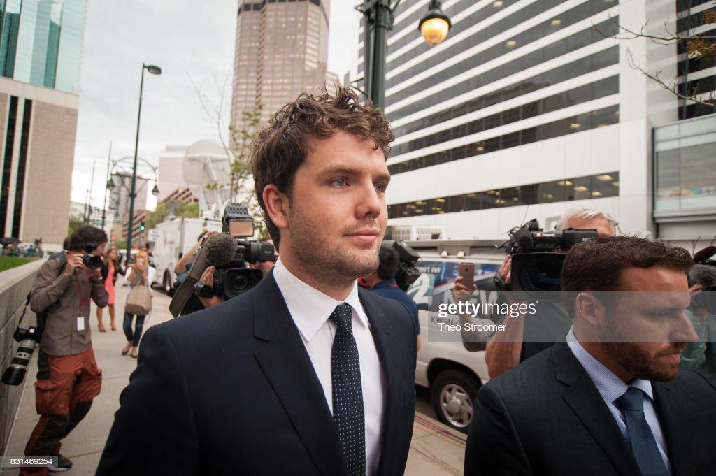 Taylor Swift's Court Case Against David Mueller : News Photo